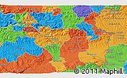 Political 3D Map of Orešje