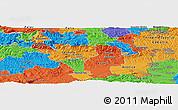 Political Panoramic Map of Brezje pri Kumpolju