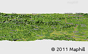 Satellite Panoramic Map of Breza