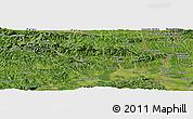 Satellite Panoramic Map of Brezje pri Kumpolju