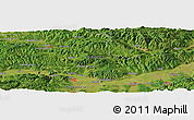"Satellite Panoramic Map of the area around 46° 1' 3"" N, 23° 1' 29"" E"