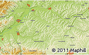 Physical Map of Valea Viilor