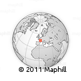 """Outline Map of the Area around 46° 1' 3"""" N, 2° 37' 30"""" E, rectangular outline"""