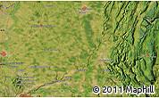 Satellite Map of Izernore