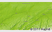 Physical 3D Map of Petitcodiac