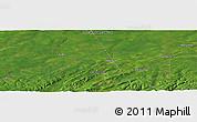 Satellite Panoramic Map of Salisbury