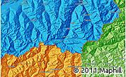 Political Map of Zermatt