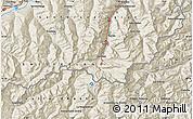 Shaded Relief Map of Zermatt