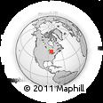 Outline Map of 176 Colonization Rd, rectangular outline