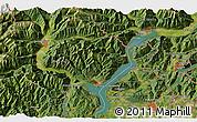 Satellite 3D Map of Domodossola