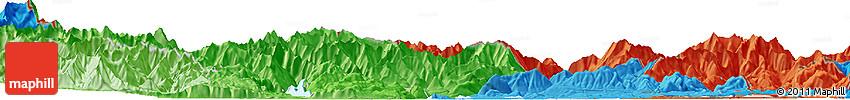 Political Horizon Map of Domodossola