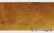 Physical 3D Map of Dara Eheiin Jisa