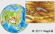 Physical Location Map of Dara Eheiin Jisa