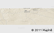 """Shaded Relief Panoramic Map of the area around 46°1'3""""N,98°40'30""""E"""