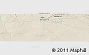Shaded Relief Panoramic Map of Yumiin Jisa
