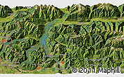 "Satellite 3D Map of the area around 46° 1' 3"" N, 9° 25' 30"" E"