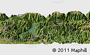 "Satellite Panoramic Map of the area around 46° 1' 3"" N, 9° 25' 30"" E"
