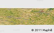 Satellite Panoramic Map of Poitiers
