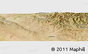"Satellite Panoramic Map of the area around 46° 26' 14"" N, 100° 22' 30"" E"