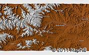 Physical 3D Map of Jargalant