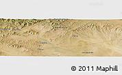 Satellite Panoramic Map of Arvayheer