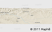 Shaded Relief Panoramic Map of Arvayheer