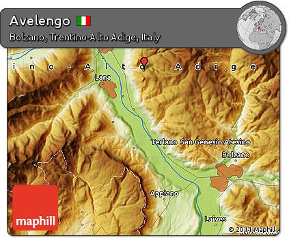 Free Physical Map of Avelengo