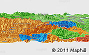 Political Panoramic Map of Jesenice