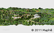 Satellite Panoramic Map of Jesenice