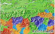 Political Map of Klagenfurt