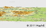 Physical Panoramic Map of Šmartno pri Slovenj Gradcu
