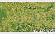 Satellite 3D Map of Kaposvár
