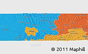 Political Panoramic Map of Bajnicska