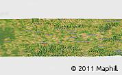 Satellite Panoramic Map of Bajnicska