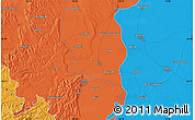 Political Map of Szekszárd