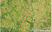 Satellite Map of Szekszárd