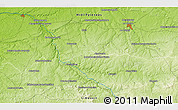 """Physical 3D Map of the area around 46°26'14""""N,1°46'29""""E"""