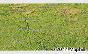 """Satellite 3D Map of the area around 46°26'14""""N,1°46'29""""E"""