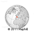 """Outline Map of the Area around 46° 26' 14"""" N, 1° 46' 29"""" E, rectangular outline"""
