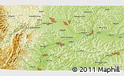 Physical 3D Map of Noşlac