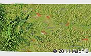 Satellite 3D Map of Băişoara