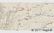 Shaded Relief 3D Map of Băişoara