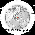 Outline Map of Dărmănești, rectangular outline