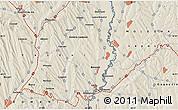 Shaded Relief Map of Vaslui