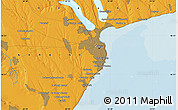 """Political Map of the area around 46°26'14""""N,30°40'29""""E"""