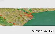 "Satellite Panoramic Map of the area around 46°26'14""N,30°40'29""E"