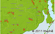 Physical Map of Davydivka