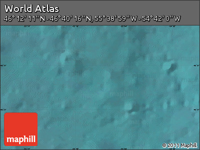 """Satellite Map of the Area around 46°26'14""""N,55°10'29""""W"""