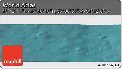 "Satellite Panoramic Map of the Area around 46°26'14""N,55°10'29""W"