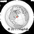 Outline Map of 24 Rue Des Sapins, rectangular outline